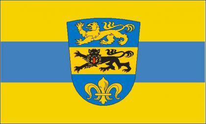 Flagge Fahne Landkreis Dillingen 90 x 150 cm - Vorschau