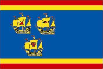 Flagge Fahne Landkreis Nordfriesland 90 x 150 cm - Vorschau
