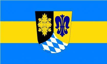 Flagge Fahne Landkreis Unterallgäu 90 x 150 cm