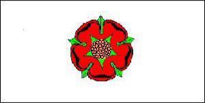 Flagge Fahne Lancashire 90 x 150 cm - Vorschau