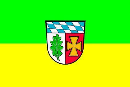 Flagge Fahne Landk. Aichach Friedberg 90 x 150 cm