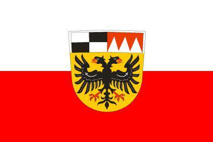 Flagge Fahne Landkreis Ansbach 90 x 150 cm