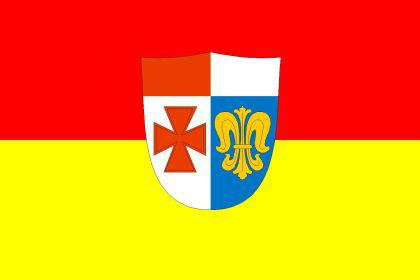 Flagge Fahne Landkreis Augsburg 90 x 150 cm