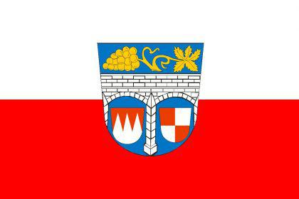 Flagge Fahne Landkreis Kitzingen 90 x 150 cm