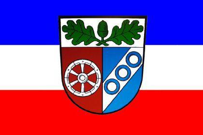 Flagge Fahne Landkreis Aschaffenburg 90 x 150 cm
