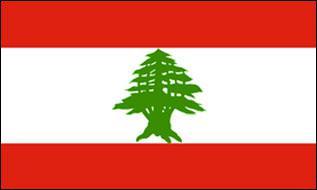 Flagge Fahne Libanon 90 x 150 cm - Vorschau