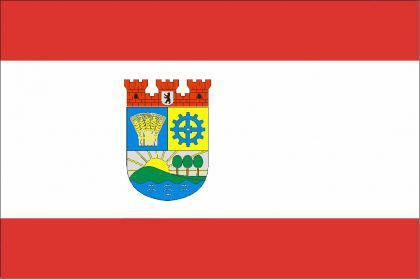 Flagge Fahne Berlin Lichtenberg 90 x 150 cm - Vorschau