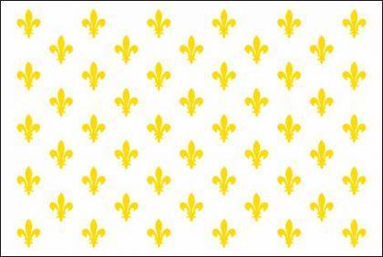 Flagge Fahne Frankr. Lilienbanner weiß 90 x 150 cm - Vorschau
