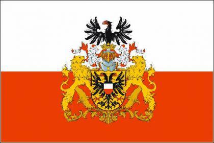 Flagge Fahne Lübeck großes Wappen 90 x 150 cm - Vorschau