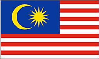 Flagge Fahne Malaysia 90 x 150 cm - Vorschau