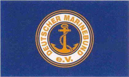 Flagge Fahne Deutscher Marinebund 90 x 150 cm - Vorschau