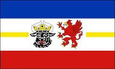 Flagge Fahne Mecklenburg-Vorpommern 90 x 150 cm