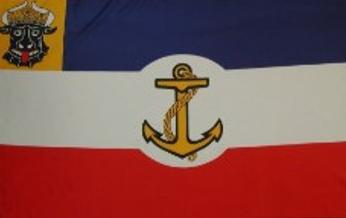 Flagge Fahne Mecklenburg Binnengew. 90 x 150 cm - Vorschau