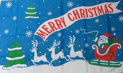 Flagge Fahne Merry Christmas I 90 x 150 cm - Vorschau