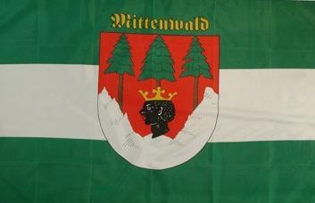 Flagge Fahne Mittenwald 90 x 150 cm - Vorschau