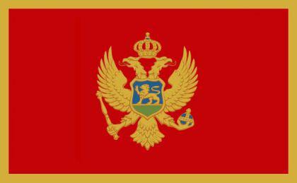 Flagge Fahne Montenegro 90 x 150 cm