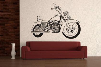Wandtattoo Motorrad Motiv Nr. 1