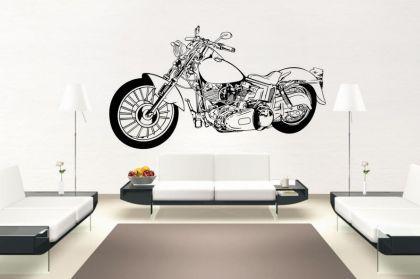 Wandtattoo motorrad online bestellen bei yatego - Motorrad wandtattoo ...