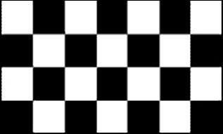 Flagge Fahne Motorsport Zielflagge 90 x 150 cm - Vorschau