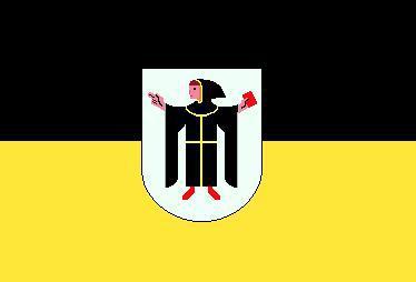 Flagge Fahne München Wappen 90 x 150 cm