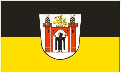 Flagge Fahne München großes Wappen 90 x 150 cm - Vorschau