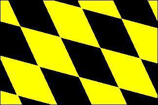 Flagge Fahne München Raute 90 x 150 cm - Vorschau