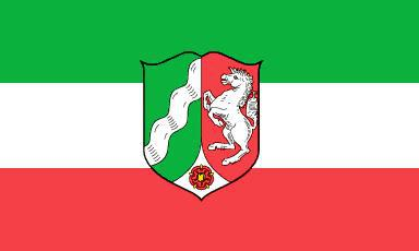Flagge Fahne Nordrhein-Westfalen NRW 90 x 150 cm - Vorschau