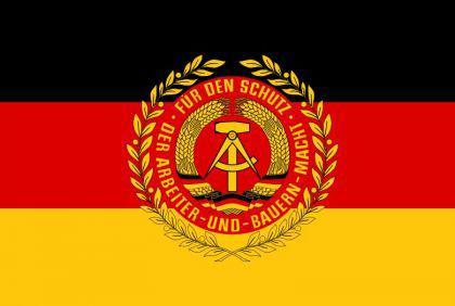Flagge Fahne NVA Truppenfahne 90 x 150 cm - Vorschau