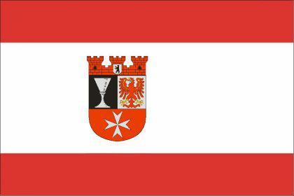 Flagge Fahne Berlin Neukölln 90 x 150 cm - Vorschau
