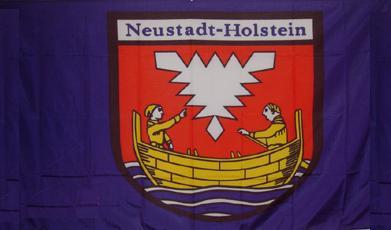 Flagge Fahne Neustadt Holstein 90 x 150 cm - Vorschau
