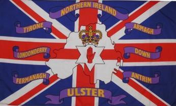 Flagge Fahne Nordirland 6 Grafschaften 90 x 150 cm - Vorschau
