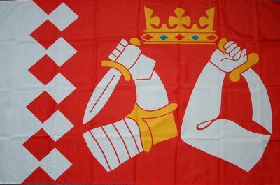 Flagge Fahne Finnland Nordkarelien 90 x 150 cm