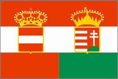 Flagge Fahne Österreich - Ungarn 90 x 150 cm - Vorschau