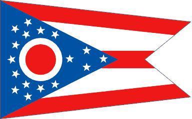 Flagge Fahne Ohio 90 x 150 cm - Vorschau