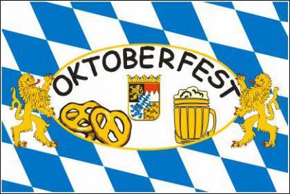 Flagge Fahne Oktoberfest 90 x 150 cm - Vorschau