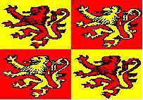 Flagge Fahne Owain Glyndwr 90 x 150 cm - Vorschau