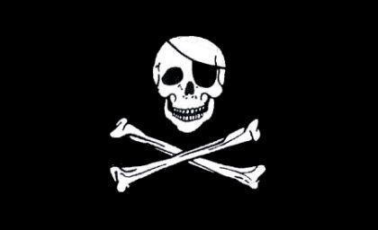 Flagge Fahne Pirat 90 x 150 cm