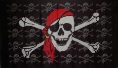 Flagge Fahne Pirat kleine Piraten 90 x 150 cm - Vorschau