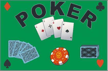 Flagge Fahne Poker 90 x 150 cm - Vorschau