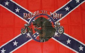Flagge Fahne Südstaaten Till I die 90 x 150 cm