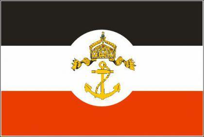 Flagge Fahne Reichsdienstflagge KM 90 x 150 cm - Vorschau