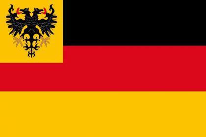 Flagge Fahne Reichsflotte 1848 - 1852 90 x 150 cm - Vorschau