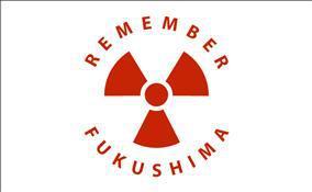Flagge Fahne Remember Fukushima 90 x 150 cm - Vorschau
