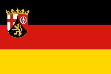 Flagge Fahne Rheinland-Pfalz 90 x 150 cm