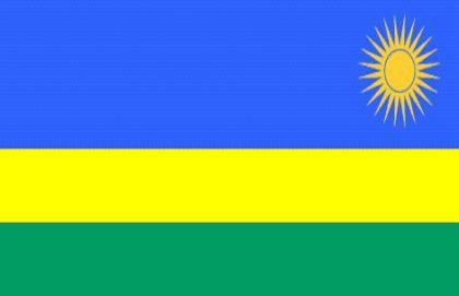 Flagge Fahne Ruanda 90 x 150 cm - Vorschau