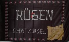 Flagge Fahne Schatzinsel Rügen 90 x 150 cm - Vorschau