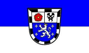 Flagge Fahne Saarbrücken 90 x 150 cm - Vorschau