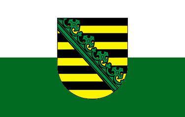 Flagge Fahne Sachsen 90 x 150 cm