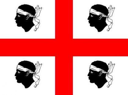 Flagge Fahne Sardinien 90 x 150 cm - Vorschau