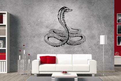 wandtattoo schlange motiv nr 1 kaufen bei. Black Bedroom Furniture Sets. Home Design Ideas